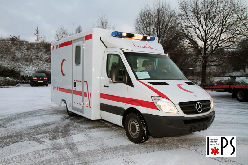 Mercedes-Benz Sprinter 315 (BM906), Chassis with Box, 4 patients ambulance